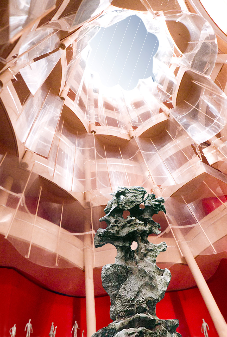 The great hall (Image courtesy of Gehry Partners)