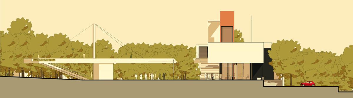018 – ELEVATION| 1/200 - Image Courtesy of ONZ Architects