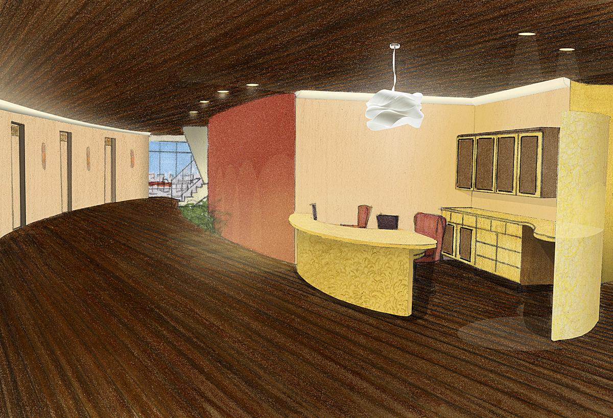 Hall/Nurses Station