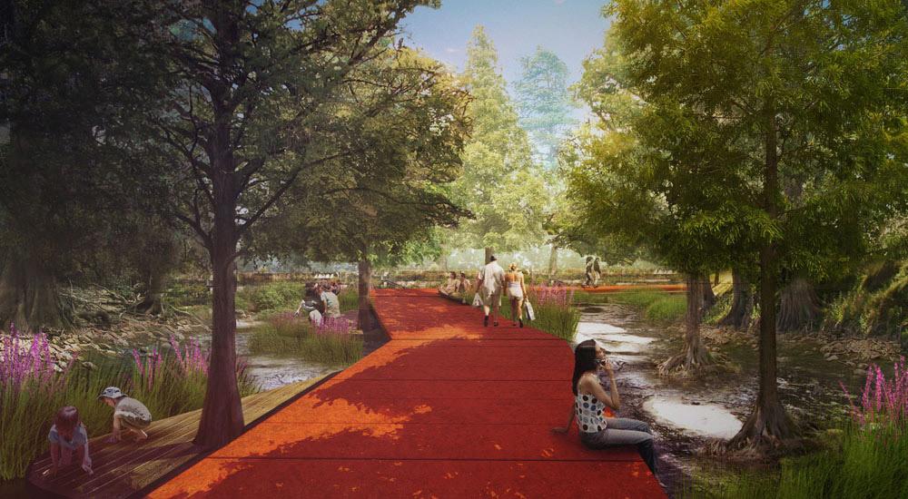 Finalist: Turenscape + Lake|Flato Architects