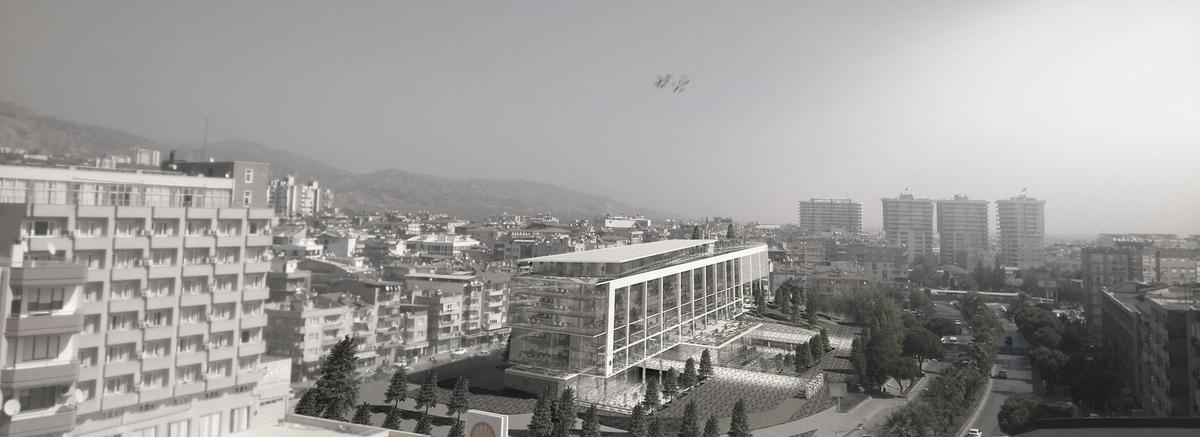 Efeler Municipality Service Building 1, Aydin, Turkey