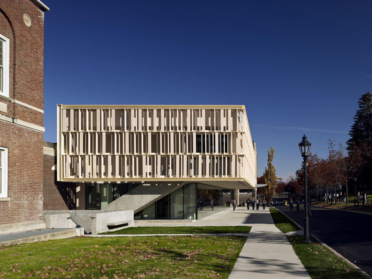 york alfred college pavilion mcgee state architects architect university ny ceramics ikon feinknopf archinect soad location ohio brad archello