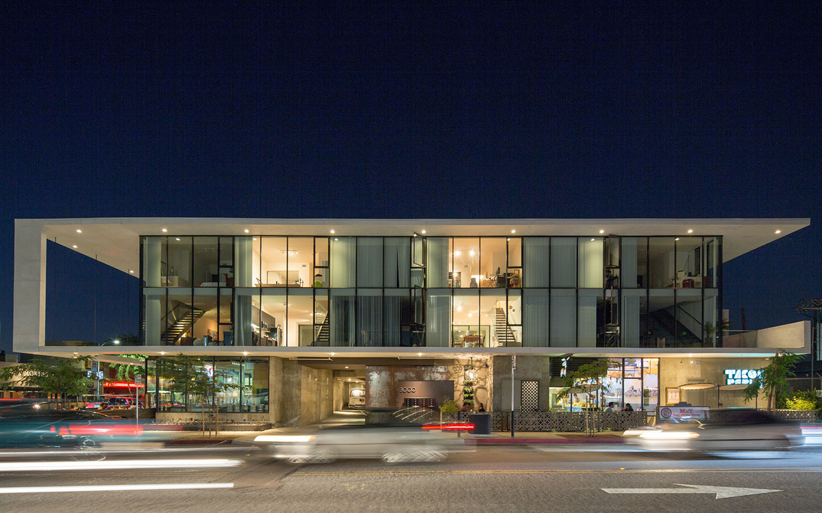 The North Parker; San Diego - Jonathan Segal, FAIA. Photo © Matthew Segal