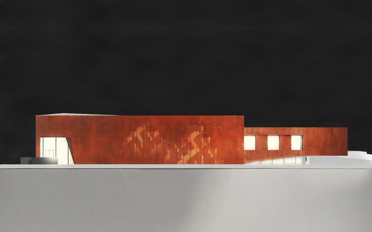 Exterior View of Model (© Studio Link-Arc)