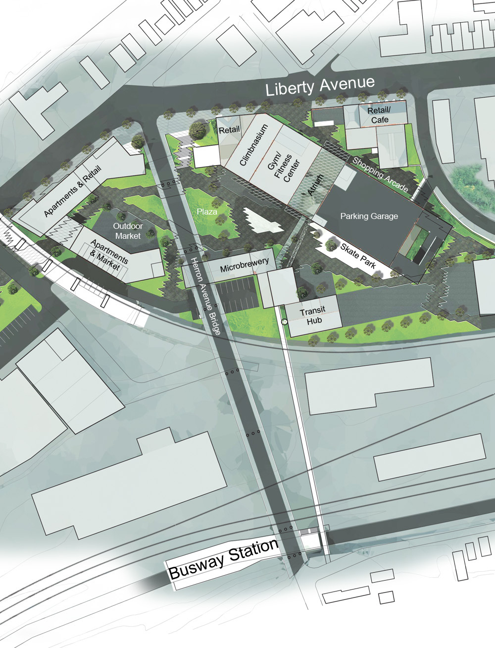 Iron City site redevelopment plan