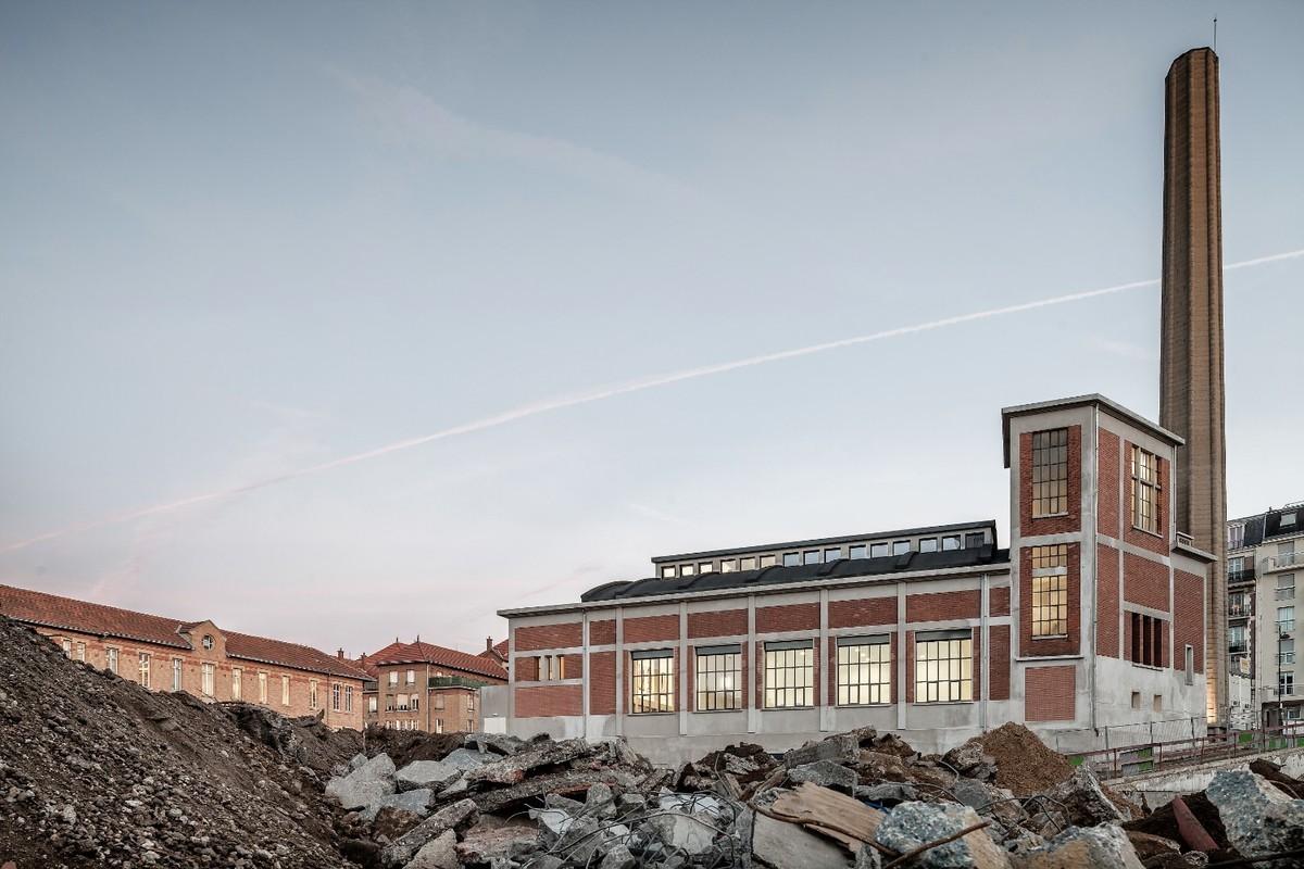House of Artistic Practices MPAA. Design by Sebastian El-Haik. Photo courtesy of Aldo Amoretti.