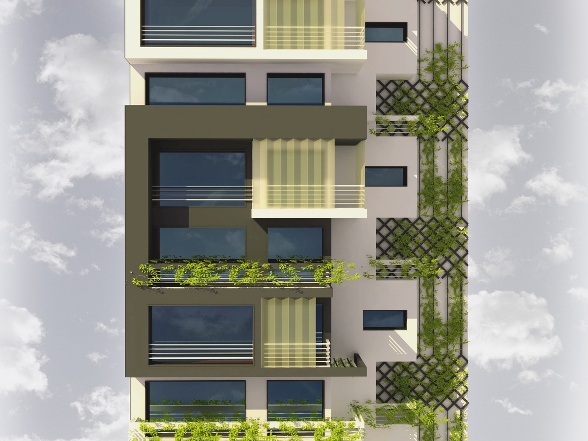 Residential building in tehran loosineh davoodian for Residential building plans