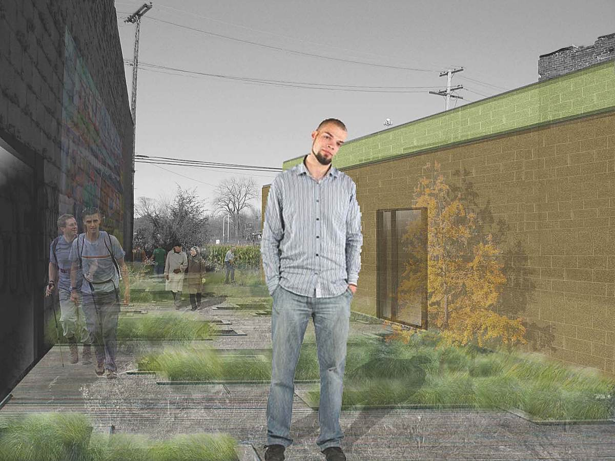 Transect #3 - Neighborhood business district street front