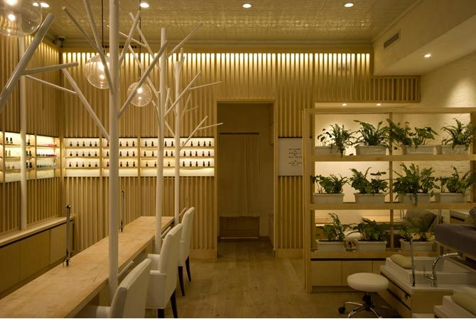 Spa Nail   CRÈME / Jun Aizaki Architecture & Design   Archinect