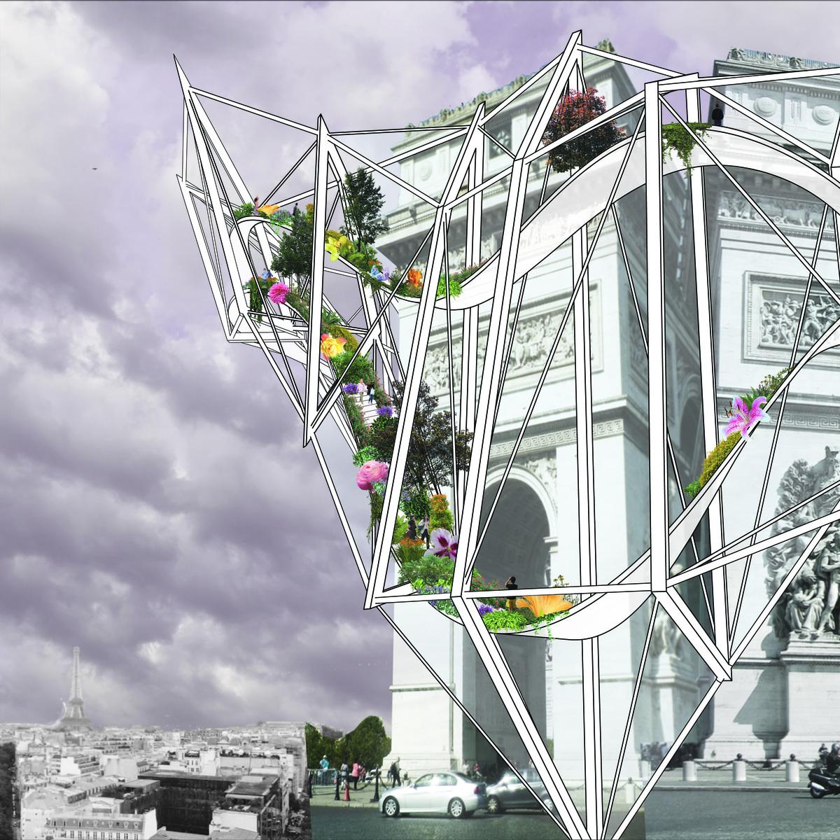 Arc De Triomphe: Exterior View by Parker Ammann.
