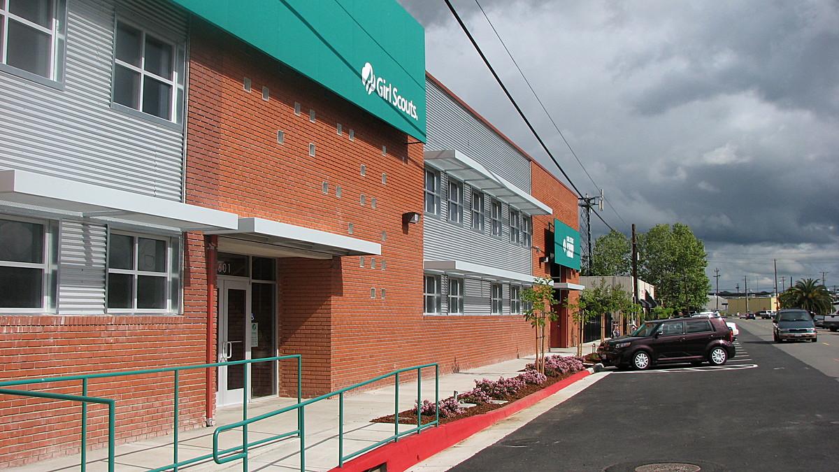 GSHCC Headquarters; Exterior remodeled