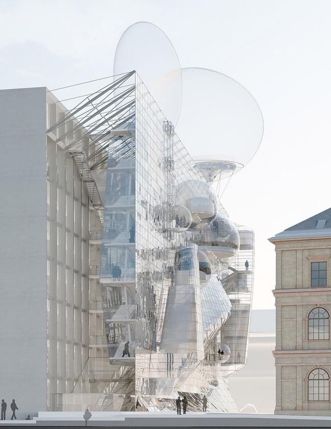 """""""NEUE ANGEWANDTE by Wolfgang Tschapeller ZT GmbH"""