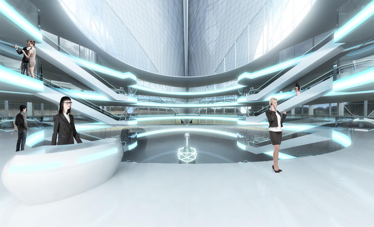 Futuristic Building Concept | Sahaj Patel | Archinect: archinect.com/theengineeringdesign/project/futuristic-building-concept
