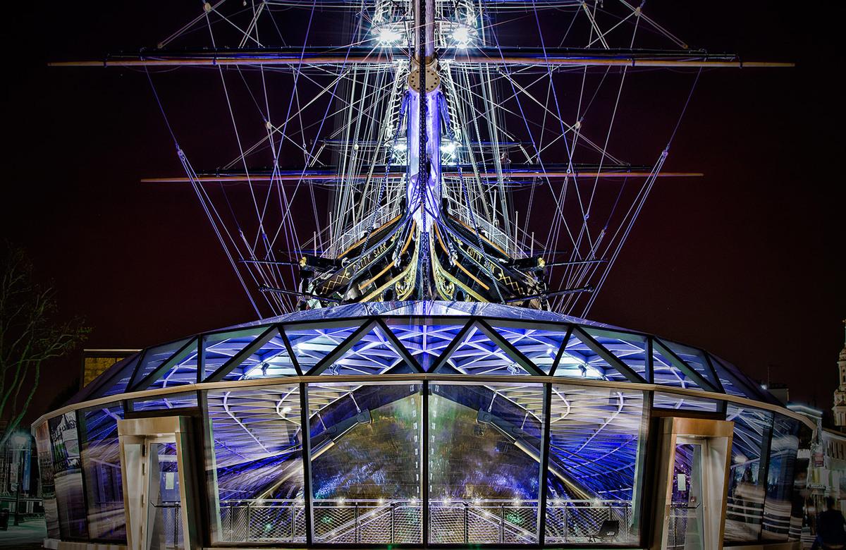Cutty Sark, London. Architect: Grimshaw Architects. © Edward Neumann / EMCN