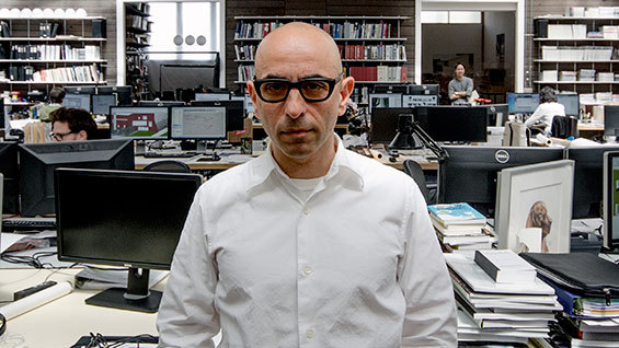 Nader Tehrani at NADAAA in June of 2015. Image courtesy of NADAAA.