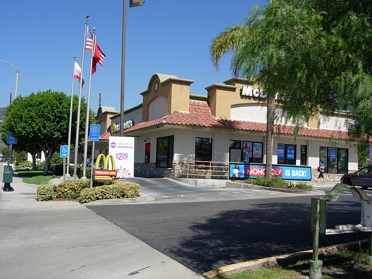 New Irwindale McDonald's 2010