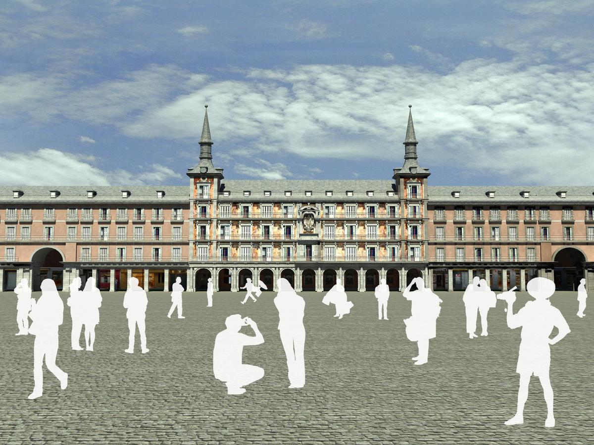 3D Model_Major Square of Madrid