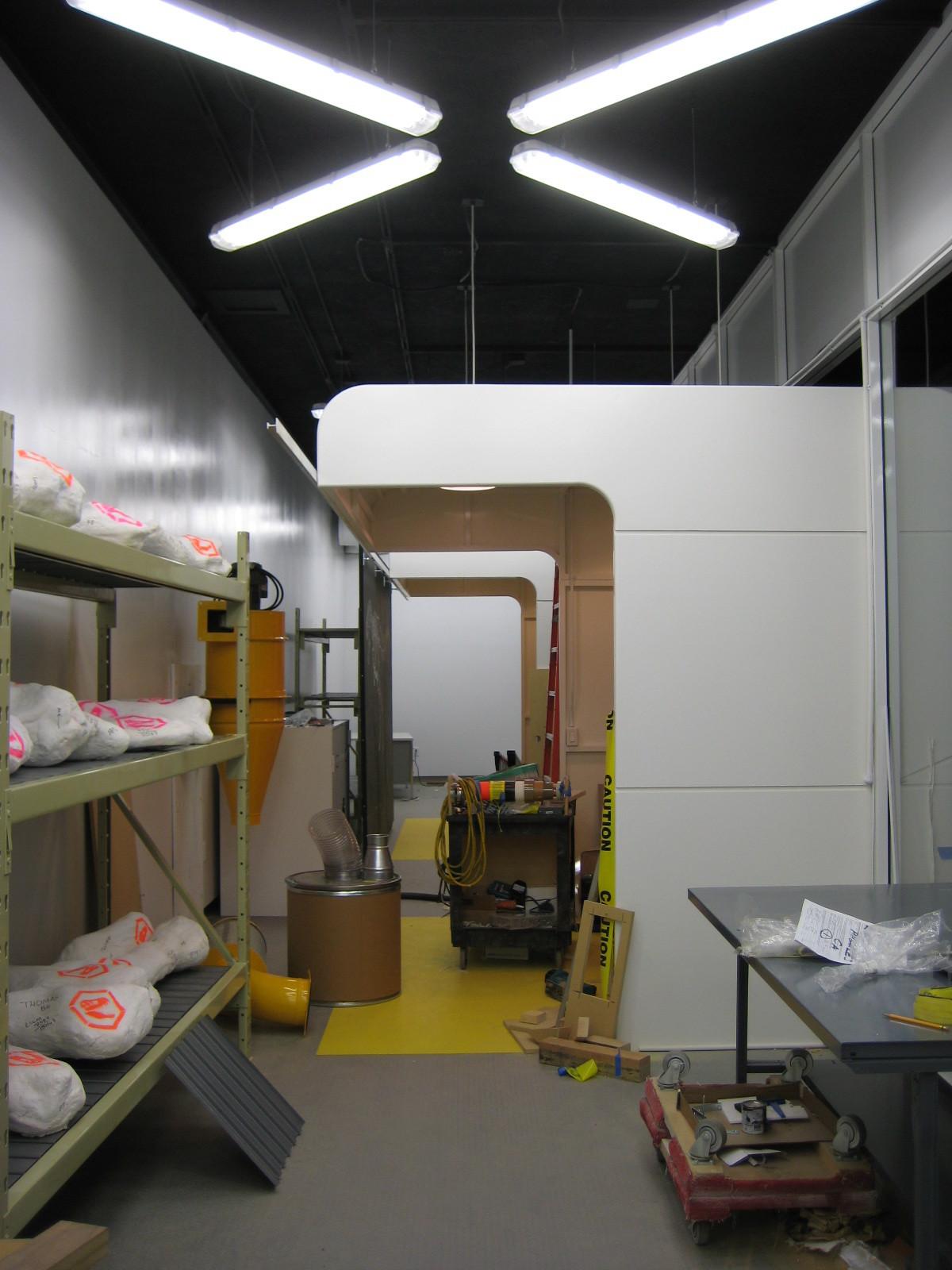 a View inside working Laboratory (work Staff)