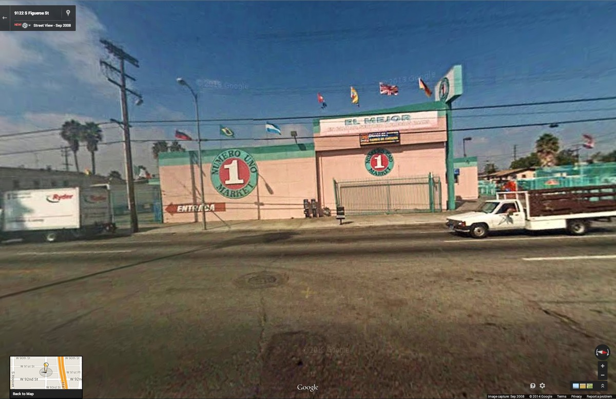 Google Street View of location for