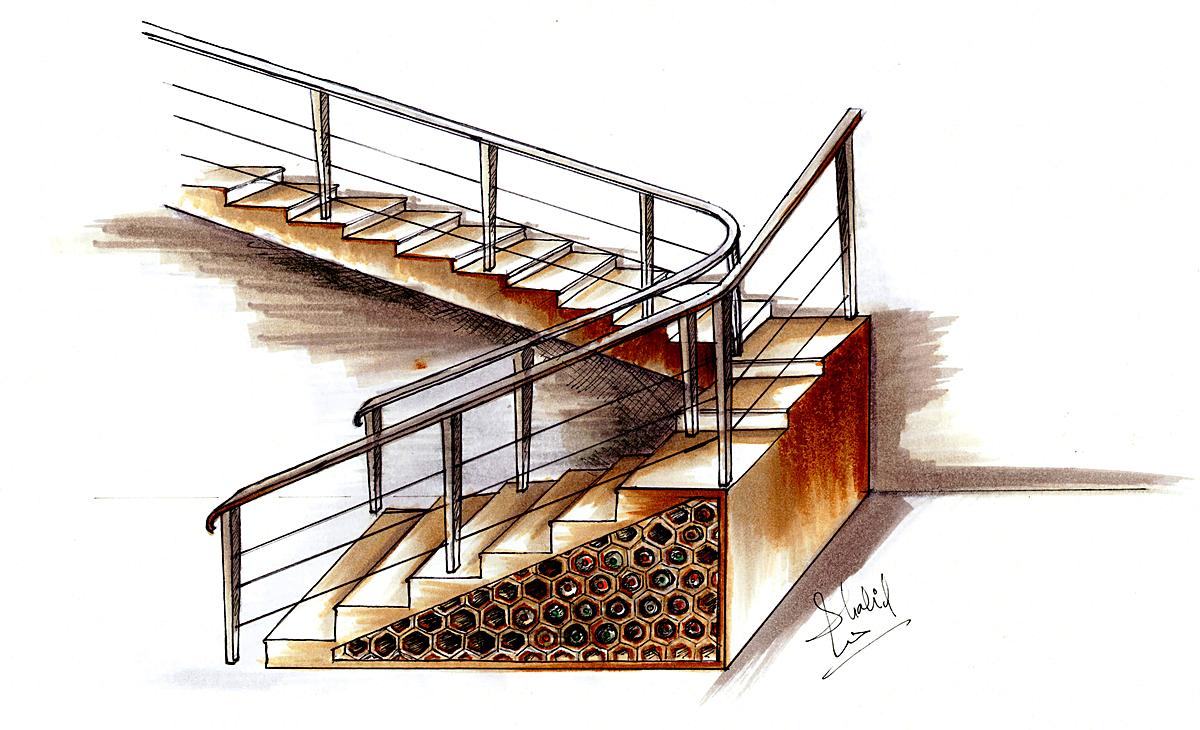 Residential | Understair wine cellar