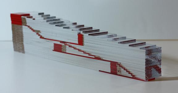 Physical circulation model