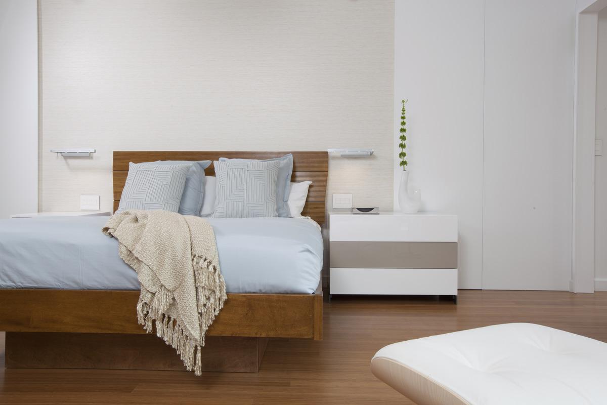 Master bedroom - Miami Interior Design