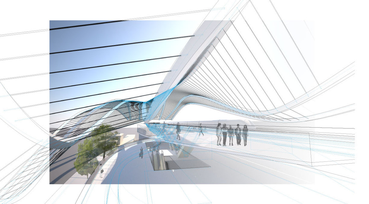 Diridon Station High Speed Rail, San Jose (Perkins+Will)