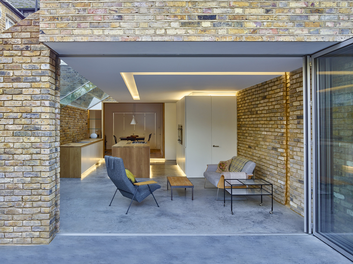 Modern Side Extension Coffey Architects Archinect