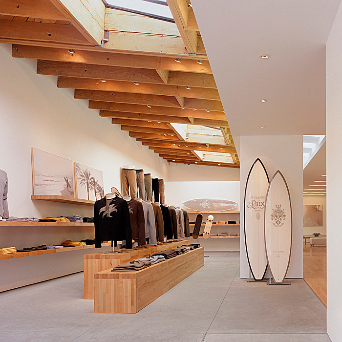 James Perse Store in West Hollywood, CA by Standard