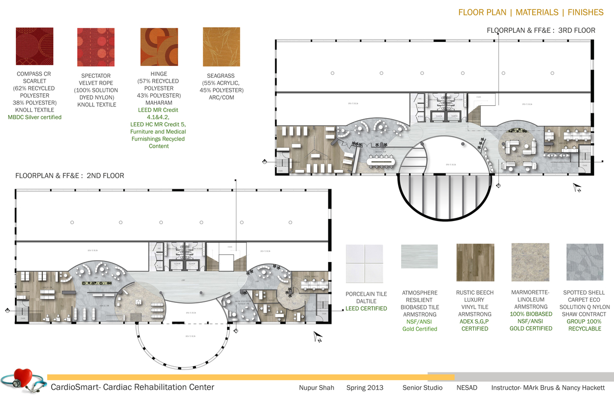 Floor Plan | Materials | Flooring Finishes