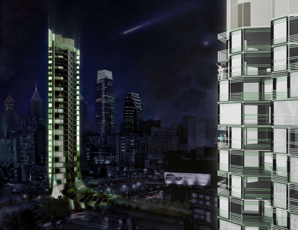Night Render - North/South