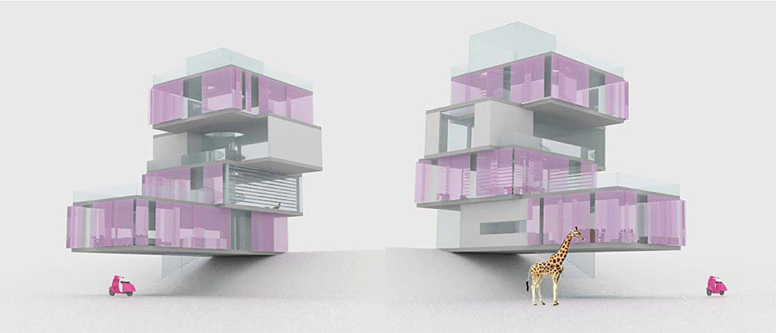 Architecture House Competition winner of the aia architect barbie dream house design competition