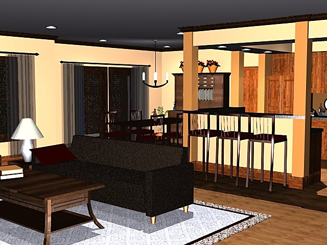3D Model, Interior, Arlington Crossing