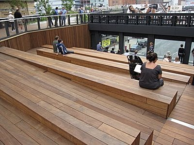 High Line Amphitheater with ADA Access