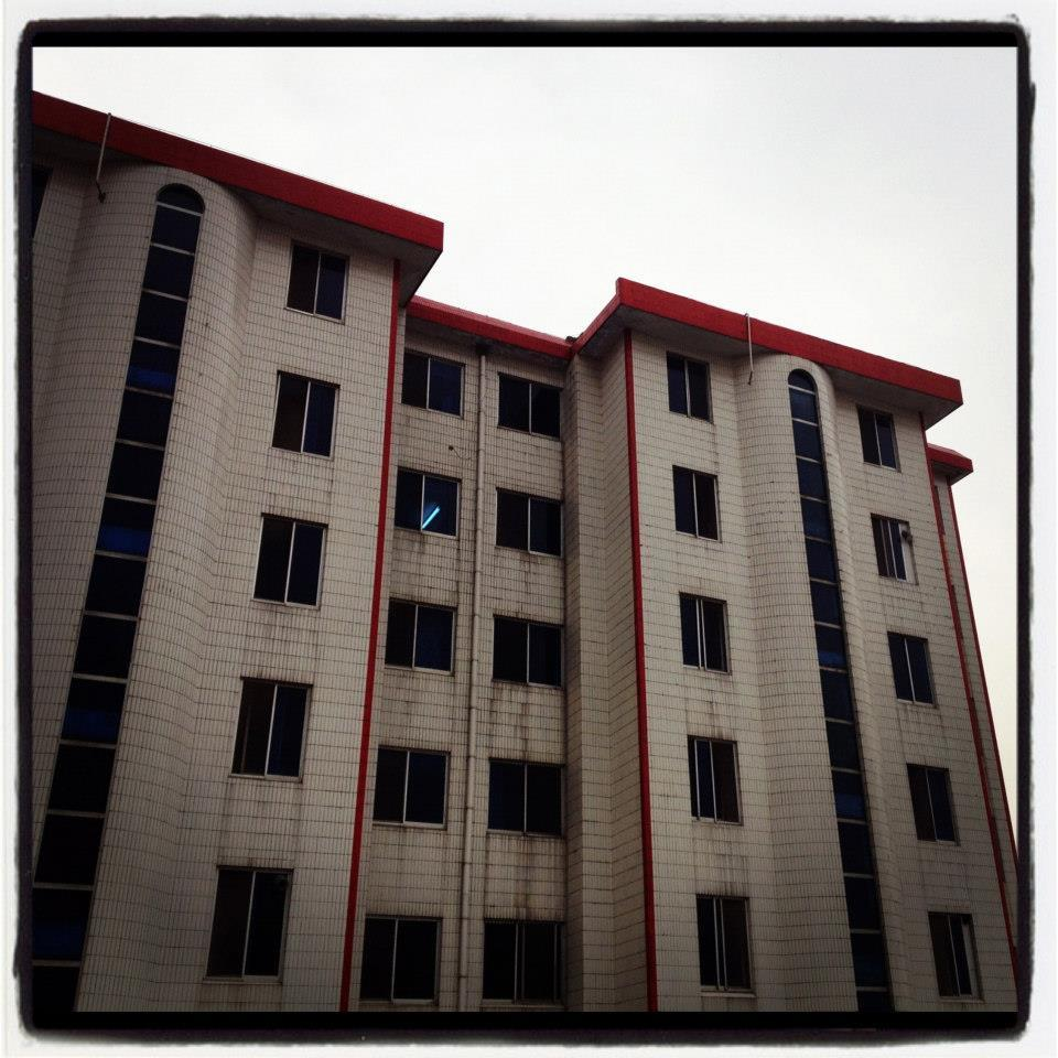 Residential blocks in Nanjiecun Village