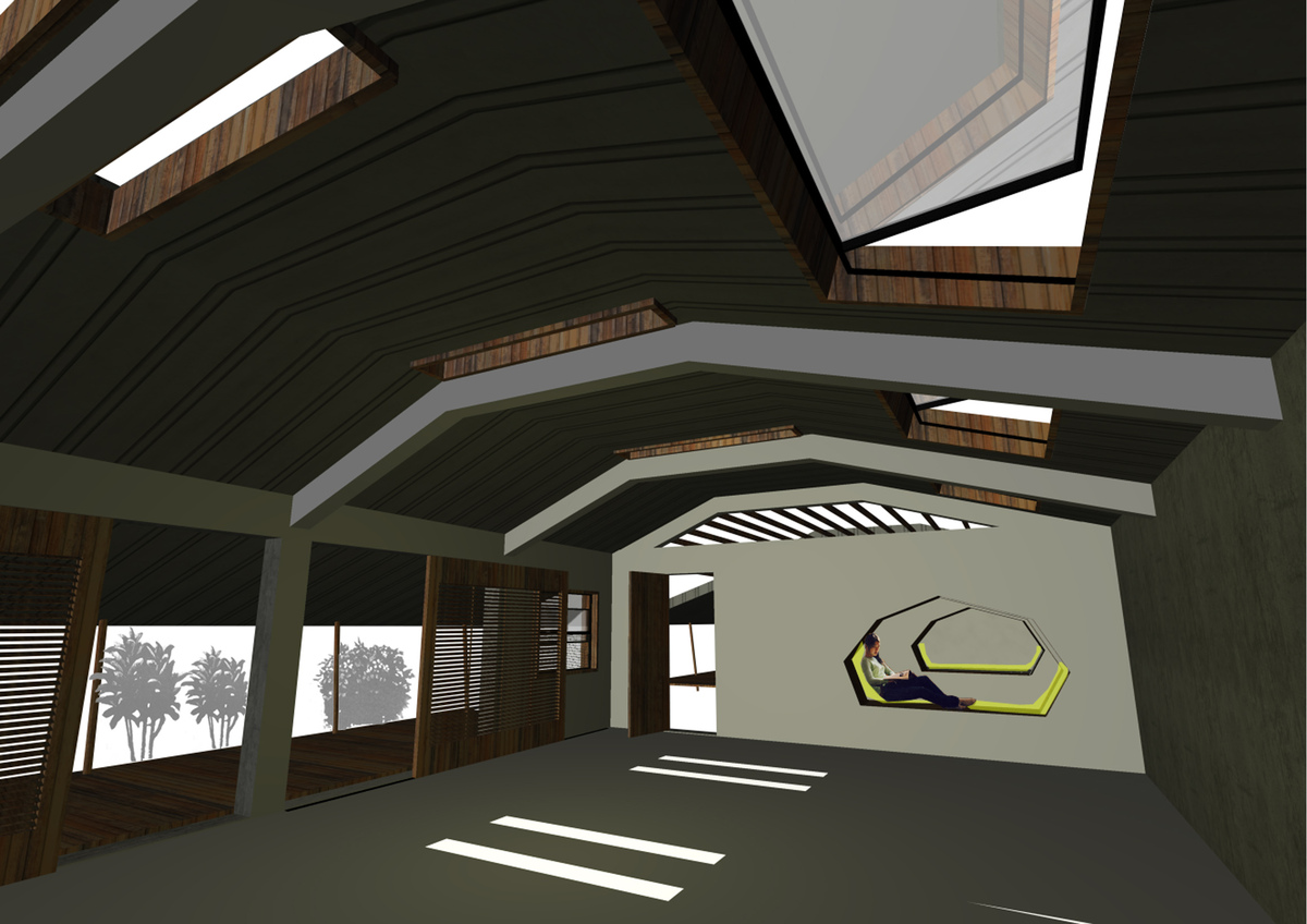 Interior Classroom Perspective