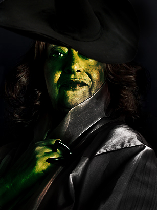 Zaha as Elphaba