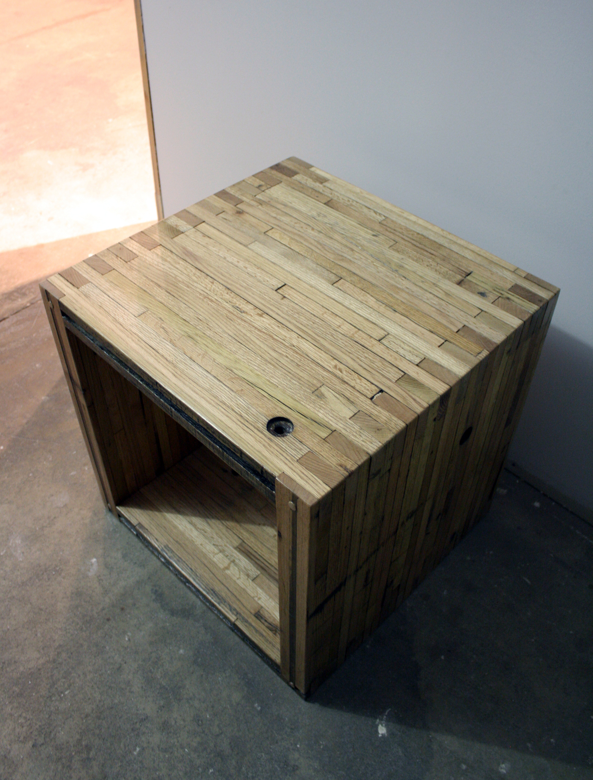 Location: Denver, CO - Reclaimed Box Car Furniture Gregory Gordon I Archinect