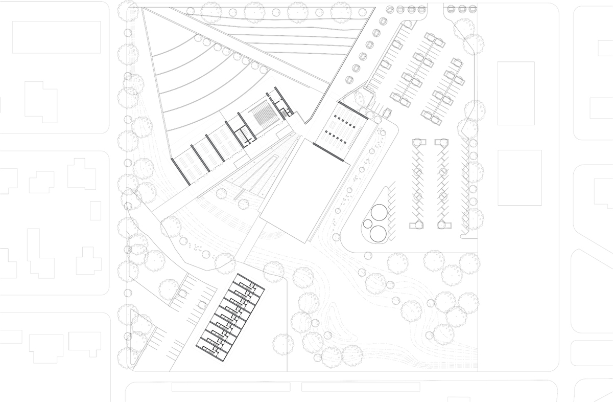 Site Plan and Top level