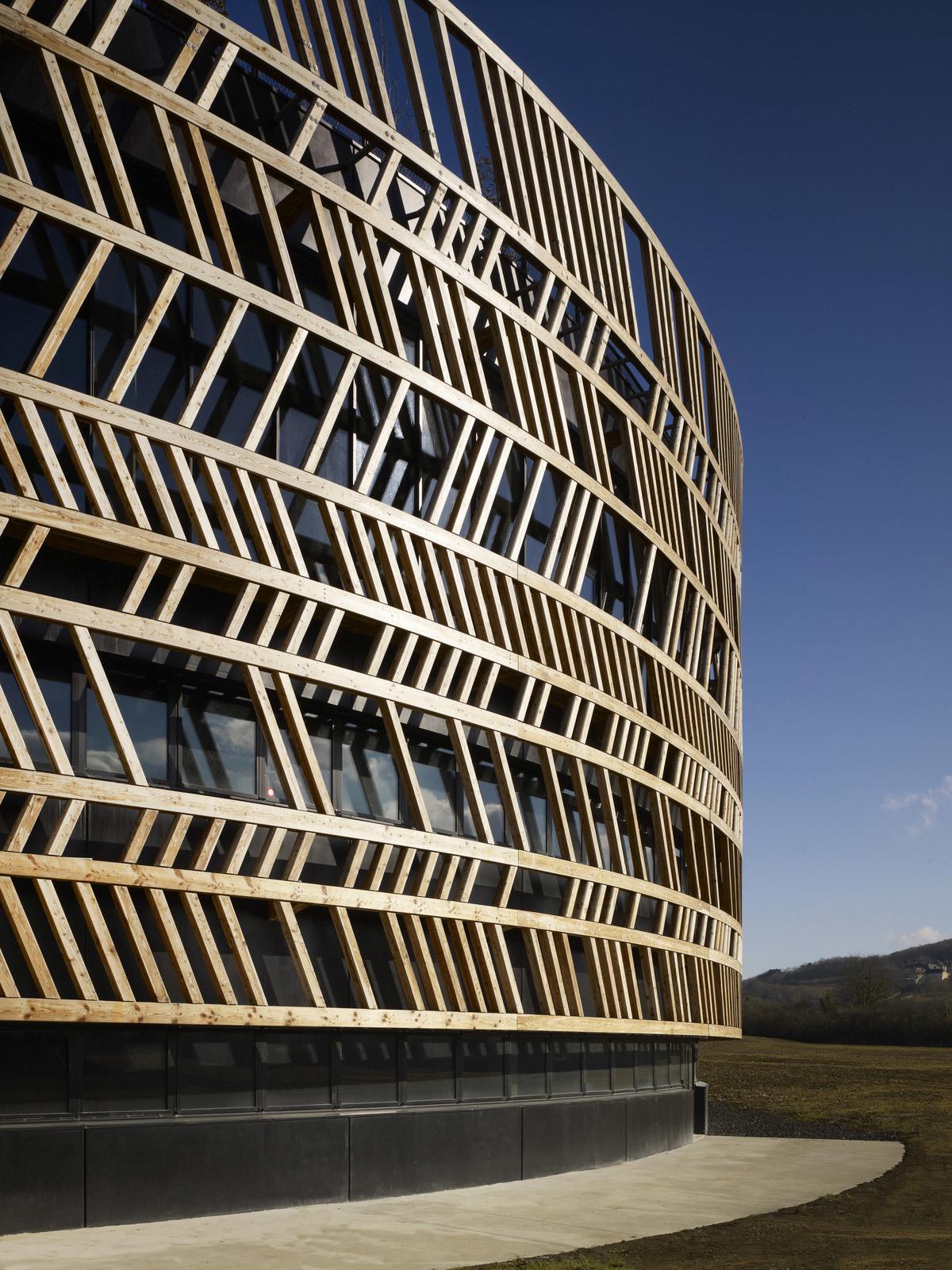 Alésia Museum in Alise-Sainte-Reine, France by Bernard Tschumi Architects (Photo: Christian Richters)