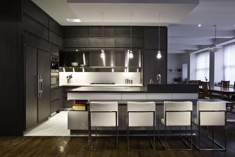 Интересные дизайны кухонь фото