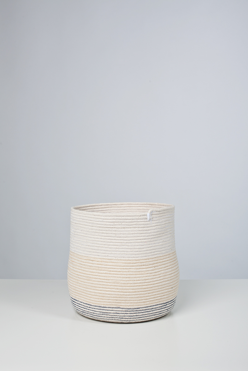 100.1 basket stitched cotton rope, 2011. Photo by Michael Popp