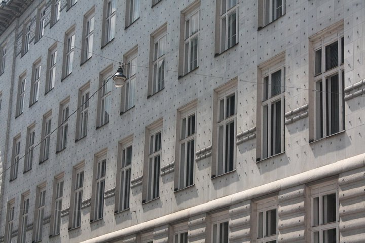 Vienna, Austria_Post Office Savings Bank by Otto Wagner