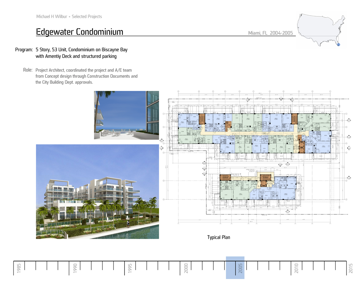 Edgewater Typ. Plan and Rendering