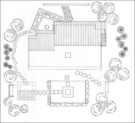 Roof and Garden plan