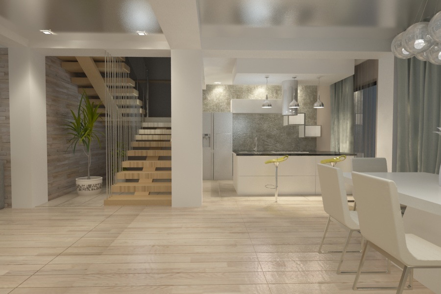 design interior living casa moderna amenajari interioare