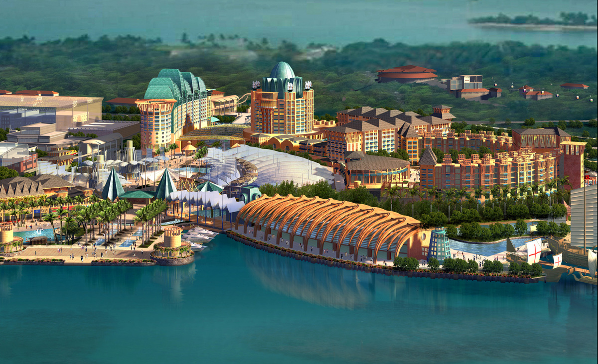 Resortsworld sentosa constantine ronquillo archinect for Hotel world design