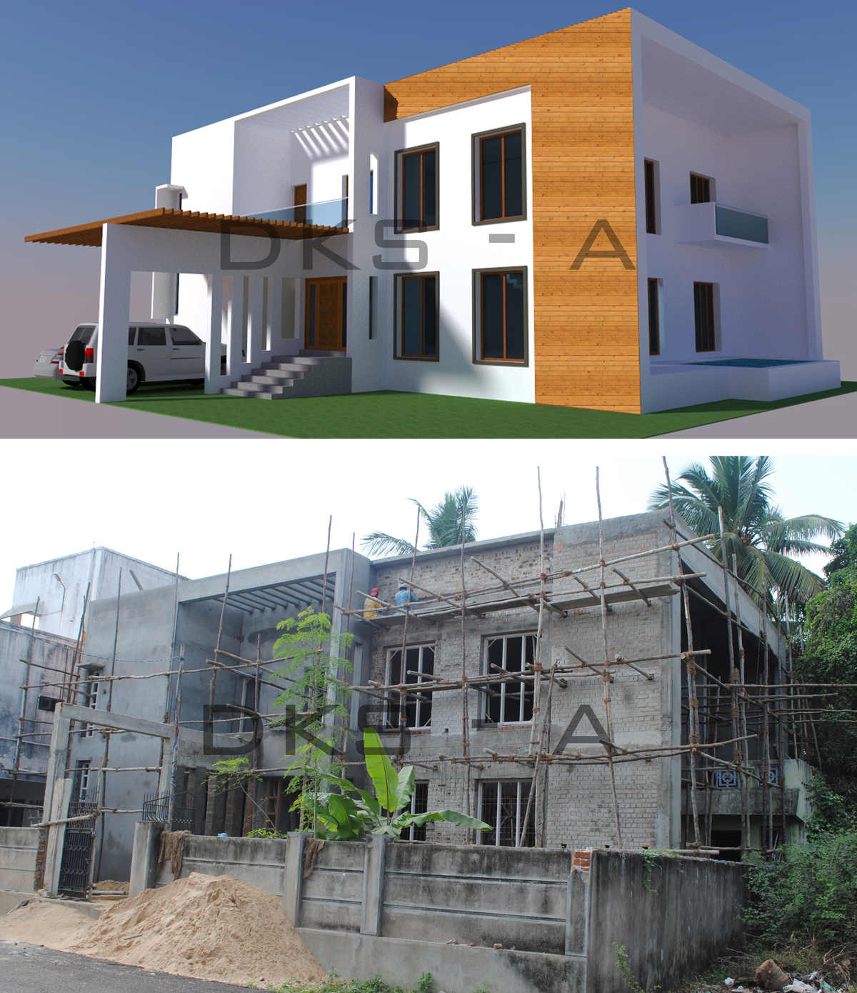 Residential architectural projects mr srinivasan d for Best residential architecture firms