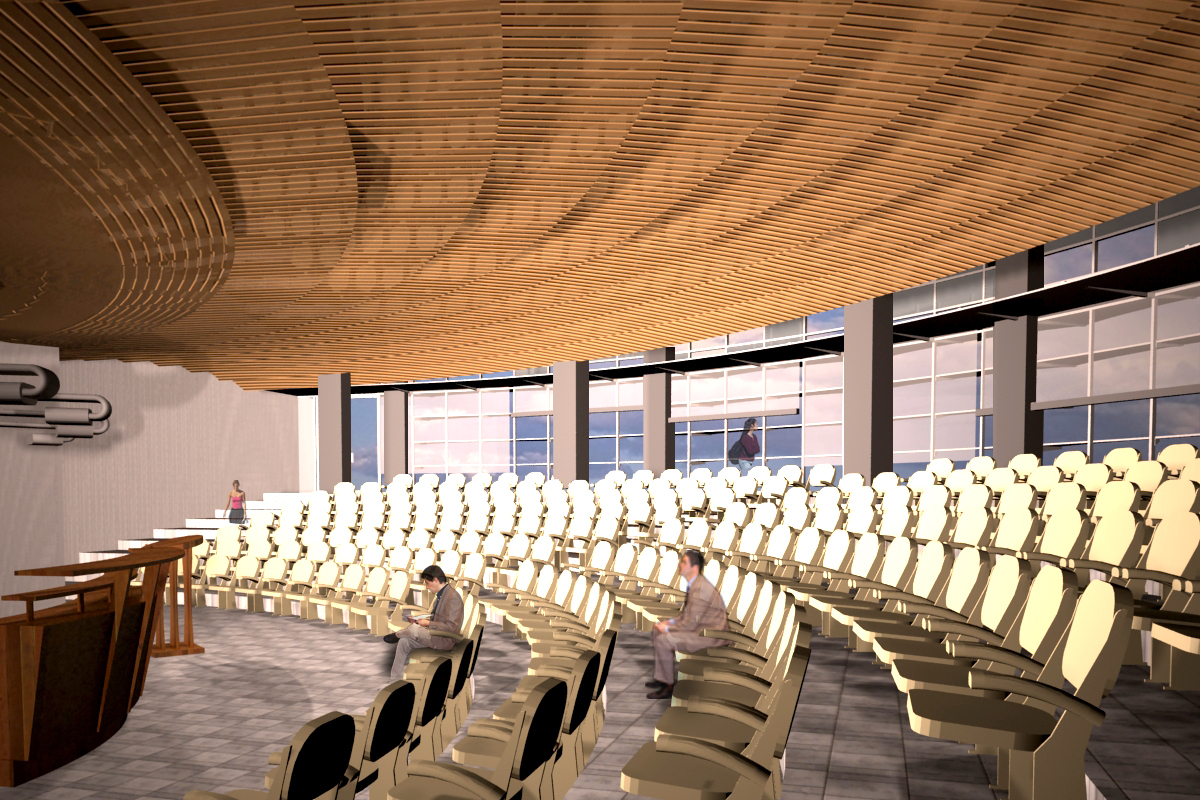 3,000 SF Auditorium