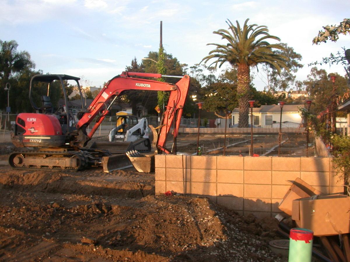construction re-commences...2013